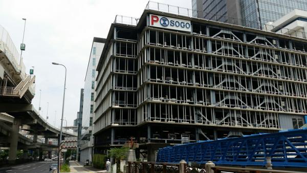 横浜駅きた東口のそごう駐車場