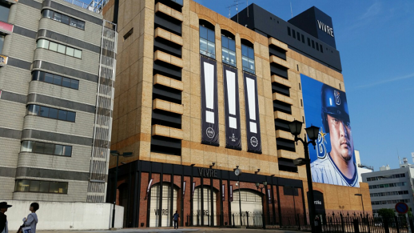 横浜駅西口のビブレ
