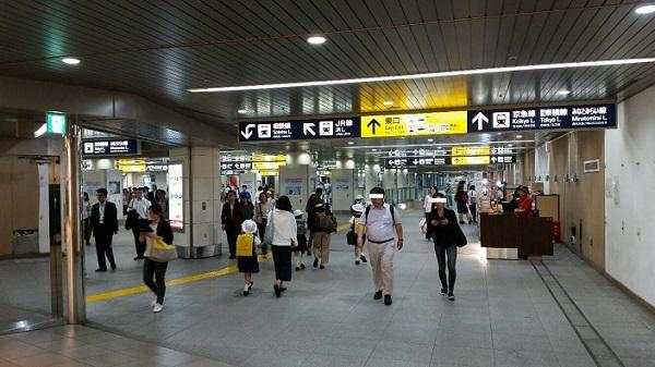 横浜駅みなみ通路