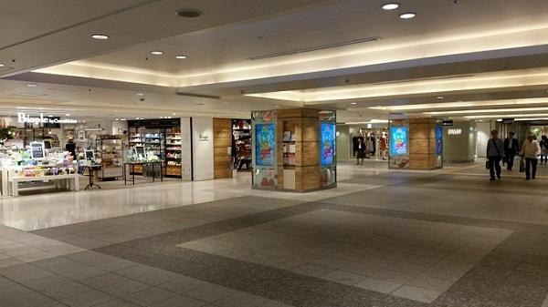 横浜駅-相鉄線2Fを出て見えるビル内