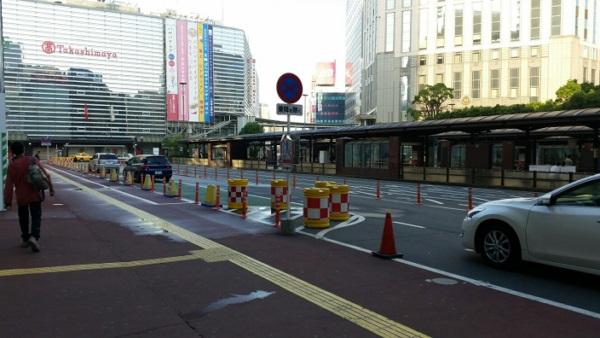 横浜駅西口_バスターミナル