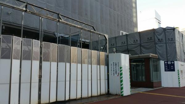 横浜駅西口_デリス横浜_工事中