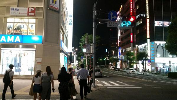 横浜ビブレへの向かう経路