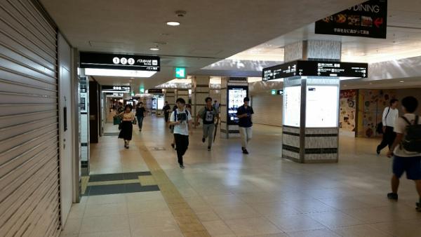 横浜駅西口ジョイナス地下街