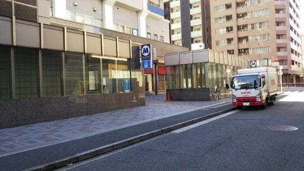みなとみらい乗り合いタクシーの乗降ポイント-元町・中華街駅4番出口前