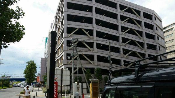 新横浜ニトリの駐車場
