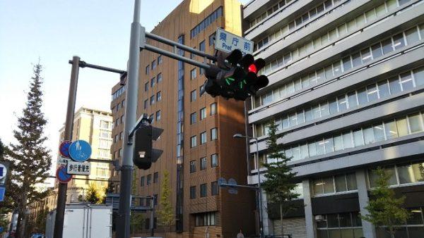日本大通り駅前(県庁前交差点)
