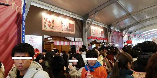 赤レンガ倉庫イベント(ストロベリーフェス)
