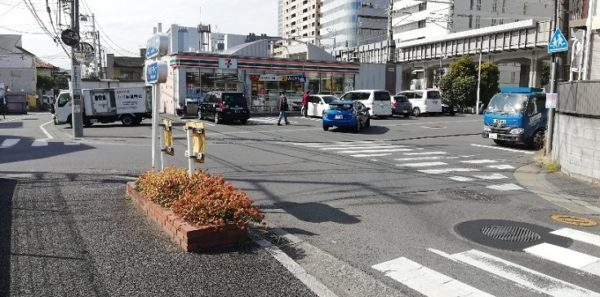 東横線の菊名駅から横浜アリーナへ向かう経路