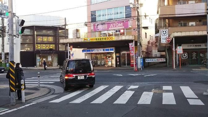 小机駅前、横浜上麻生道路