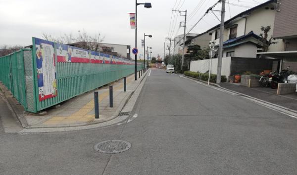 小机駅から日産スタジアムへの経路