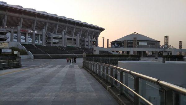 新横浜-日産スタジアムの東ゲート出入り口