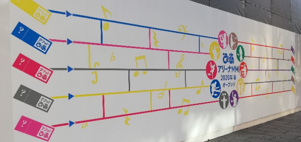 ぴあアリーナMM2020年春オープン予定