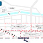 新横浜駅周辺のホテルエリアの地図