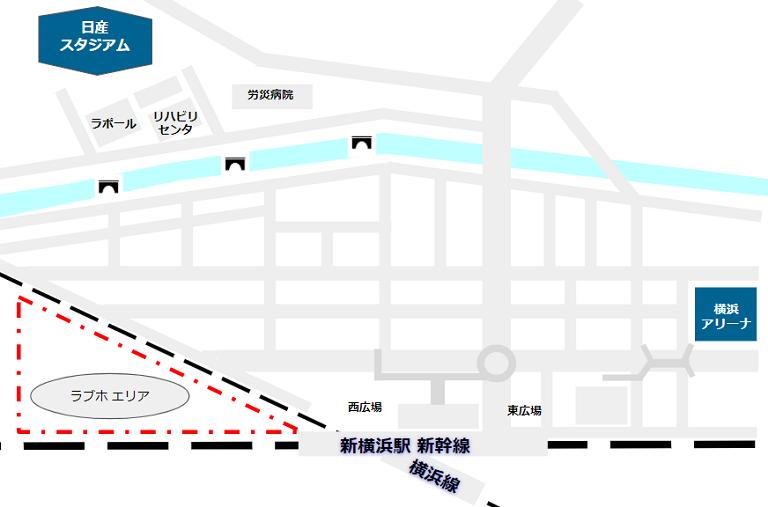 新横浜駅週へのラブホテルエリア