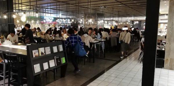 横浜駅ISETAN地下フードコート