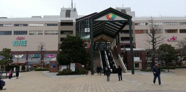 横浜ワールドポーターズの入り口