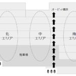 マークイズみなとみらいのフロアガイド(階層図)