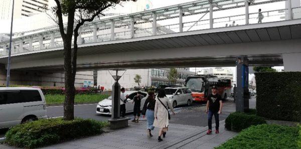 みなとみらいホール前の歩道橋