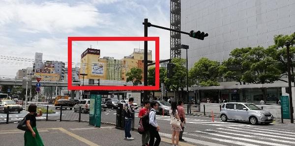 川崎駅東口のラチッタデッラの建物