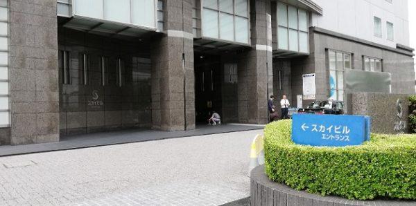 横浜スカイビルタクシー乗り場