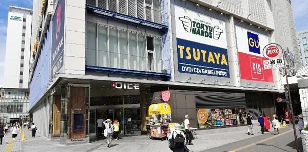 川崎DICEの店舗の前