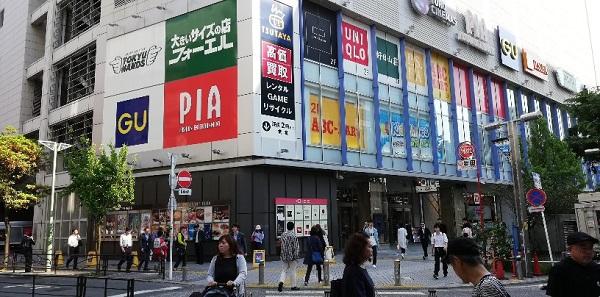 京急川崎駅前の川崎DICE