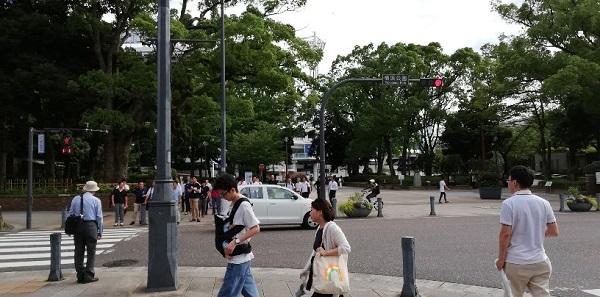横浜公園前交差点