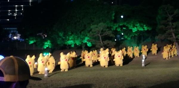 パシフィコ横浜イベント(ピカチュウ大量発生)