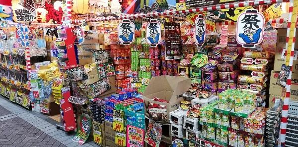 横浜駅みなみ西口ドンキホーテお菓子売り場