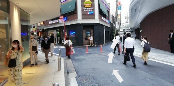 横浜駅JR横浜タワー前