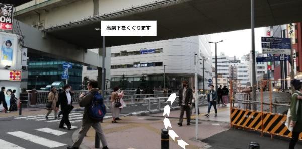 横浜駅きた西口高架下